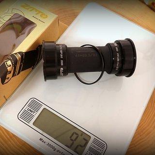 Gewicht ZTTO Innenlager BB92 Pressfit BB92 Pressfit 24mm Achse