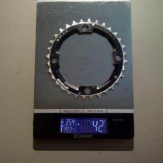 Gewicht FSA Kettenblatt K-Force 104mm, 32Z