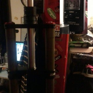 "Gewicht BOS Federgabel Idylle DC RaRe Coil 26"", 200mm, 1-1/8"""