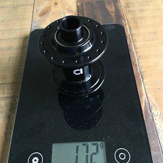 Gewicht Aivee Nabe MT3 front hub 15x100