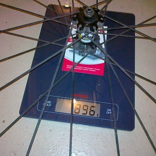 Gewicht Mavic Systemlaufräder Crossride Disc VR, 100mm/QR