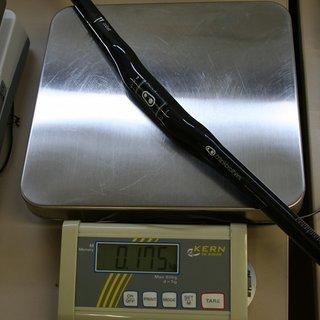 Gewicht Crank Brothers Lenker Cobalt 11 Carbon OS Flat 31,8mm, 780mm