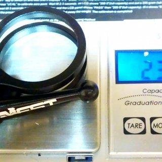 Gewicht Aest Sattelklemme STC10 (QR) 34.9mm