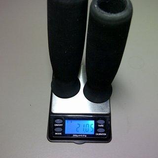 Gewicht XLC Griffe Schaumstoff Griffe 130mm