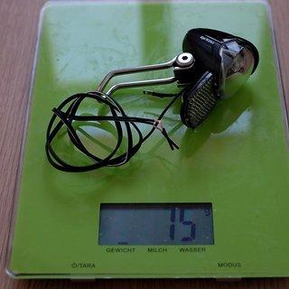 Gewicht Busch und Müller Beleuchtung Eyc N plus