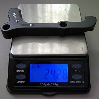 Gewicht Avid Scheibenbremsadapter Adapter IS >>> PM +40