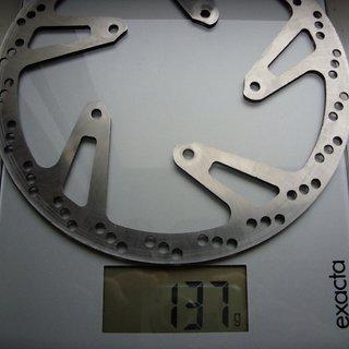 Gewicht Hope Bremsscheibe Fixed Disc Mini 185mm