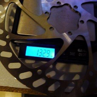 Gewicht No-Name Bremsscheibe RAD Speyer 180mm