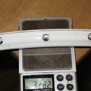 "Gewicht BOR Felge XMD333 26"" / 559x24 / 28 Loch"