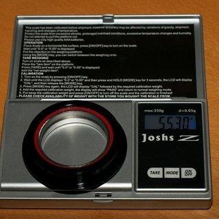Gewicht Acros Steuersatz AI-22 ZS56 ZS56/40