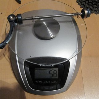 Gewicht Hope Schnellspanner Schnellspanner (V2A) 100mm