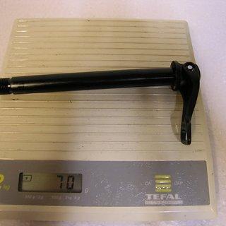 Gewicht Fox Achse QR15 Steckachse 100x15