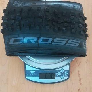 Gewicht Wolfpack Reifen Cross TL 29 x 2.25