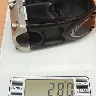 Gewicht FSA Vorbau DH-300 1.5 31.8mm, 60mm, 10°
