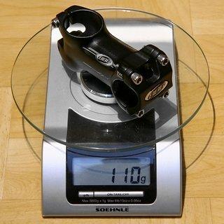 Gewicht BBB Vorbau Mountainforce BHS-03 25.4mm, 70mm, 6°