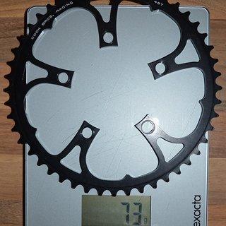 Gewicht CQP Kettenblatt Cook Bros 48T 48 Zähne Compact