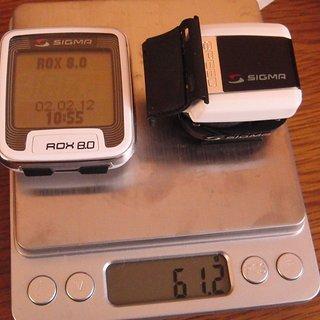Gewicht Sigma Computer Rox 8.0