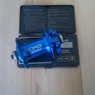 Gewicht Hope Nabe Pro 2 Evo 100mm/QR, 32-Loch