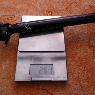 Gewicht FSA Sattelstütze Gravity Light 31,6, 350mm