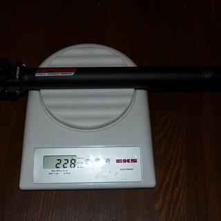 Gewicht FSA Sattelstütze FR-200 29,4 x 350mm