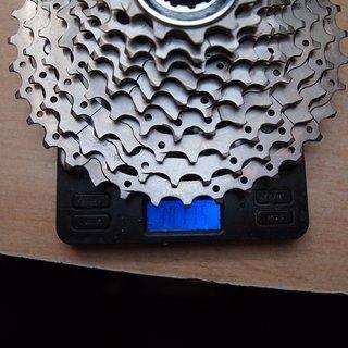 Gewicht Shimano Kassette CS-HG50-10 10-fach, 11-36Z