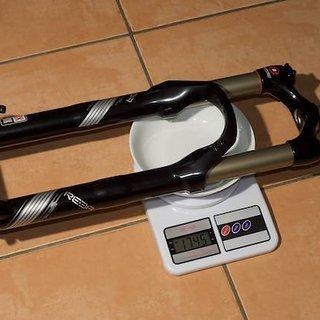 "Gewicht Rock Shox Federgabel Reba Team 26"", 120mm, 1-1/8"""