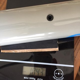 Gewicht Santa Cruz Hardtail Highball 3 CC M