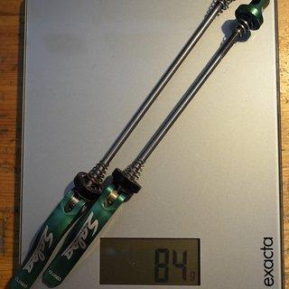 Gewicht Salsa Schnellspanner Flip Off Ti 100/135
