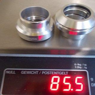 Gewicht Tange Steuersatz J-27 Techno Glide 1 1/8