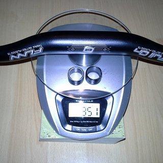 Gewicht FUNN Lenker Full On 15mm Rise 31,8 x 785mm