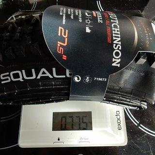 """Gewicht Hutchinson Reifen Squale HardSkin 27,5x2,3"""""""