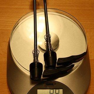 Gewicht Mavic Schnellspanner Crossmax SLR  100mm, 135mm