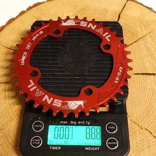 Gewicht Snail Kettenblatt ZFC-03 104mm, 38Z