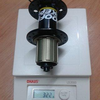 Gewicht Nukeproof Nabe Generator 135mm/QR, 32-Loch
