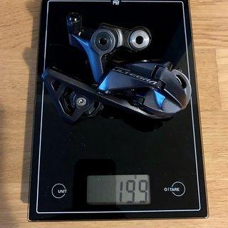 Gewicht Shimano Schaltwerk Ultegra RD-R8000SS Short Cage 11-fach