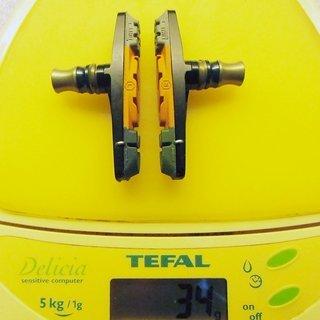 Gewicht Extralite Weiteres/Unsortiertes UltraPad V-Brake Bremsschuhe