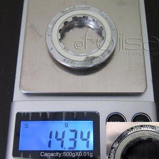 Gewicht Shimano Kassettenabschlussring Ultegra CS-6500 11Z