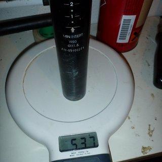 Gewicht Kind Shock Sattelstütze höhenverstellbar i950 31,6 x 385mm