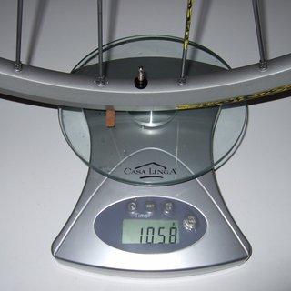 Gewicht Mavic Systemlaufräder Crossmax SX HR, 135mm/QR