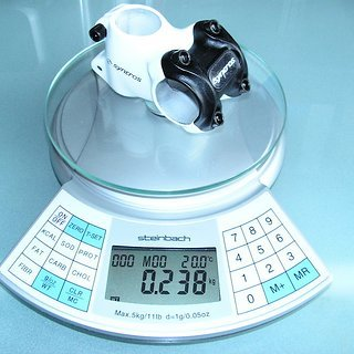 Gewicht Syncros Vorbau FR Stem 31.8mm, 50mm, 15°