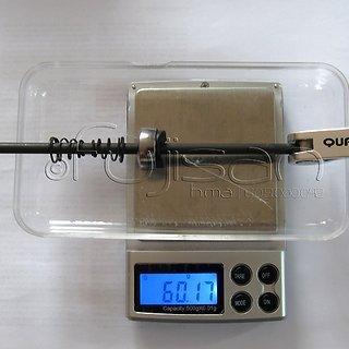 Gewicht Quando Schnellspanner Schnellspanner 135mm