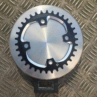 Gewicht SRAM Kettenblatt X-SYNC 34t