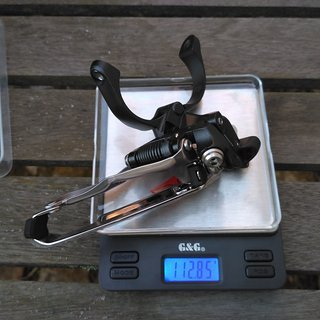 Gewicht Shimano Umwerfer XTR FD-M9000-L 34,9mm Schelle tief