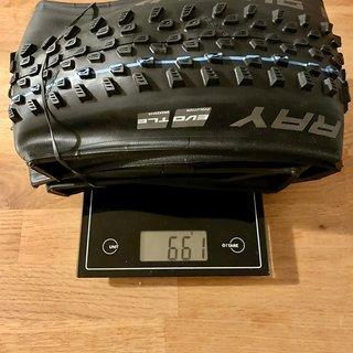 Gewicht Schwalbe Reifen Racing Ray 29x2,25 EVO Speedgrip