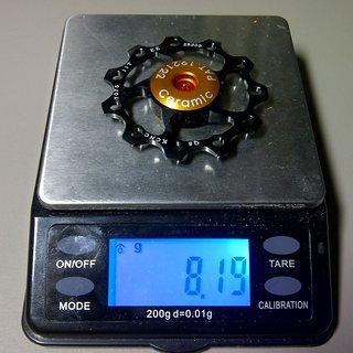 Gewicht KCNC Schaltröllchen Schaltröllchen Ceramic 11 Zähne