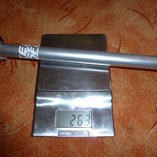 Gewicht Nukeproof Sattelstütze Warhead Inline 27.2 x 400mm