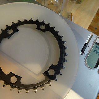 Gewicht Shimano Kettenblatt ULTEGRA FC-6800 KETTENBLATT 11S 34-MA 34 Zähne