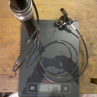 Gewicht Rock Shox Sattelstütze höhenverstellbar Reverb 30,9 x 380mm
