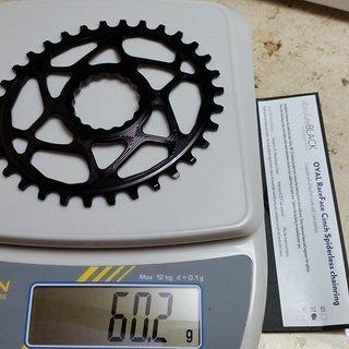 Gewicht absoluteBlack Kettenblatt Race Face Oval DM, 32Z