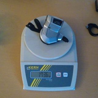 Gewicht Shimano Schalthebel ALFINE 11-Gang SL-S700 11-fach